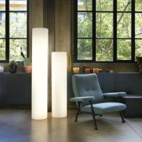 Slide - Cilindro - Colonne lumineuse d'extérieur Blanc H80cm