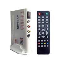 Wewoo - Mini Pc Android Tv Box argent Tv Lcd Hd 1920x1200 avec télécommande, Tv Pal-bg + Pal-dk