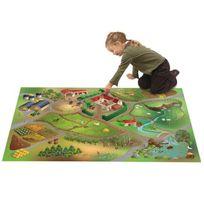 House Of Kids - Tapis enfant jeu circuit Ferme Tapis Enfants par