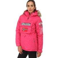 Geographical Norway - Parka Anorak femme Building fushia Géographical Norway