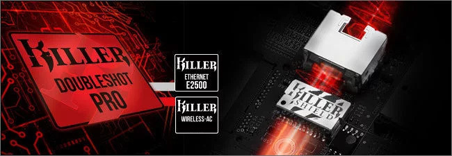 MSI GE - Killer DoubleShot Pro