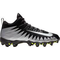 low priced b1ef4 dfe62 Nike - Crampons de Football Americain moulés Alpha Menace Shark 2 3 4 Noir  wht