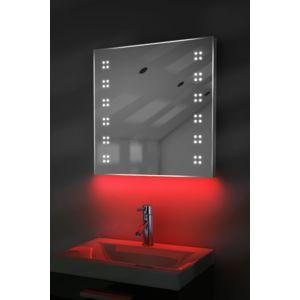 diamond x collection miroir toilette rasage bluetooth anti bu e capteur rasoir lumineux. Black Bedroom Furniture Sets. Home Design Ideas