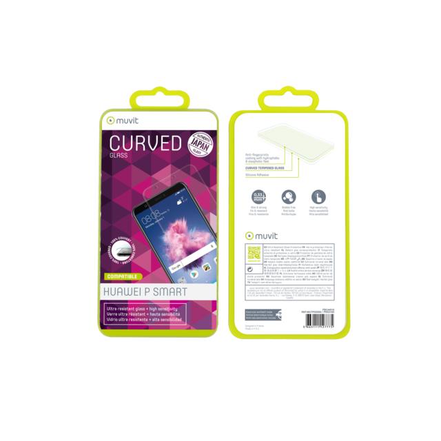 Muvit - Protection écran verre trempé pour Huawei P Smart - Mutpg0350 -  Transparent 7369ba06f69e