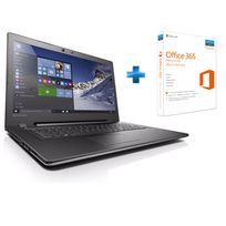 Notebook 17,3'' FHD IdeaPad 300-17ISK - Intel Core I5 - 4 Go - 1 To - AMD Radeon R5 M330 2 Go - DVD - W10 + Office 365 Personnel