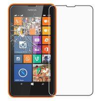 Cabling - Film Protection d'écran en verre trempé ultra dur protecteur d'écran pour Nokia Lumia 635/630