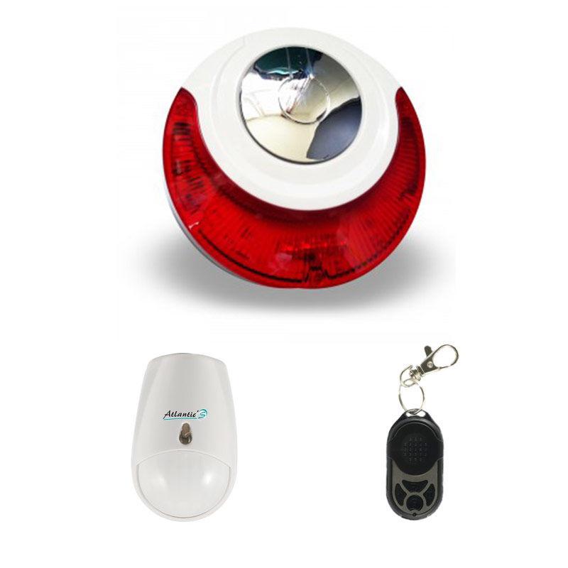 Md-214R - Mini alarme sans fil - Kit 2
