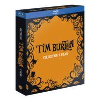 WARNER BROS - Blu-ray - Zone B2 - Tous publics - Coffret Tim Burton Blu-ray - 9 films