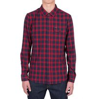 Volcom - Chemise Fulton L/S Flannel - Blood Red