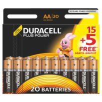 Duracell - 15 piles Aa - Lr6 Plus Power + 5 offertes