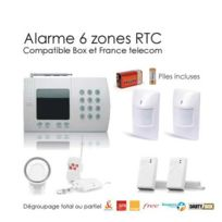 SecuriteGOODdeal - Kit alarme maison de 6 Zones, Medium Box