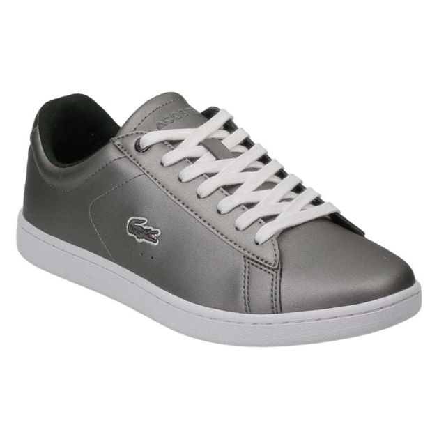 9f52044f4d4 Lacoste - Carnaby Evo 317 4 Spw Black 734spw0010024 - pas cher Achat   Vente  Baskets femme - RueDuCommerce