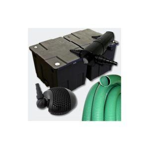 aqua occaz kit de filtration 18w avec uv pour bassin de jardin 10 15 m pas cher achat. Black Bedroom Furniture Sets. Home Design Ideas