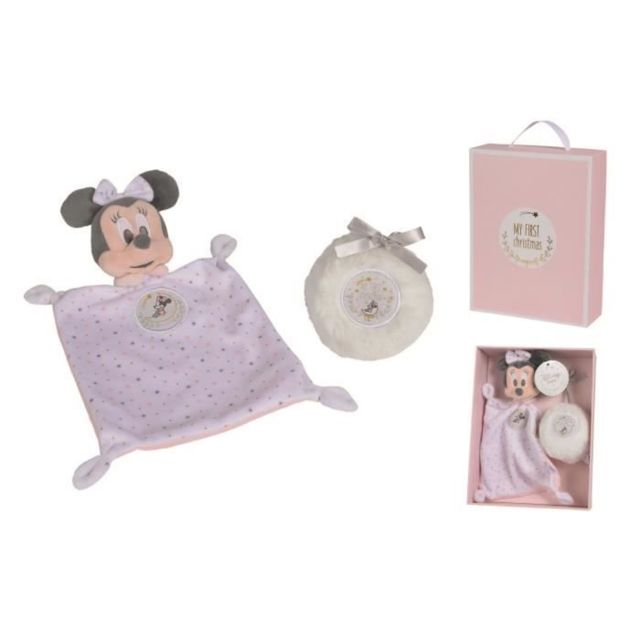 DOUDOU Minnie My First Xmas - Set cadeau