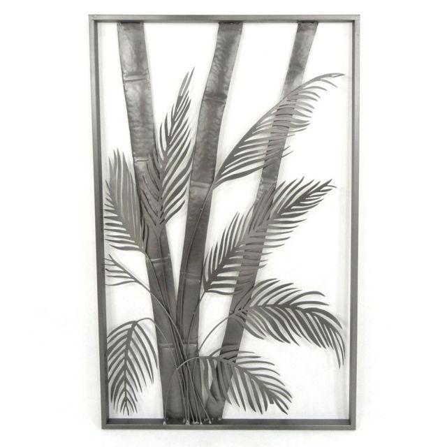 Alinéa palma décoration murale en métal 50x80cm pas cher achat vente affiches posters rueducommerce