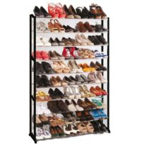 etagere chaussures achat etagere chaussures pas cher rue du commerce. Black Bedroom Furniture Sets. Home Design Ideas