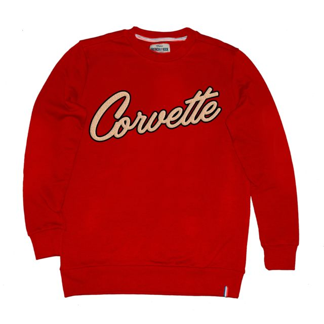 FRENCH KICK Sweat homme - rouge Corvette
