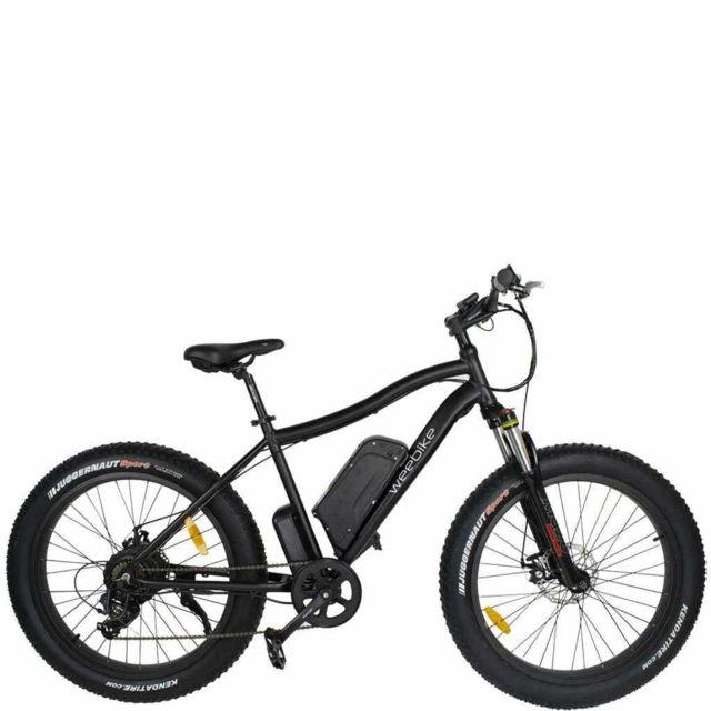 Weebot - Mtb Weebike Electric Bike - Het zwarte zwarte kruis