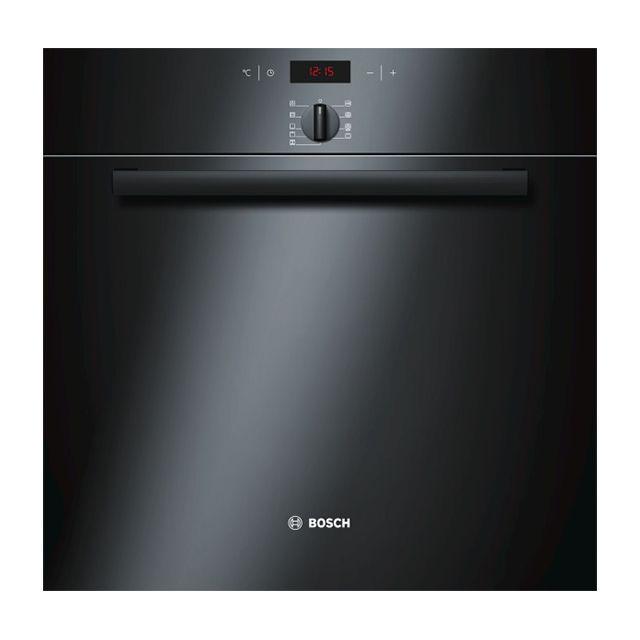 Bosch four intégrable 60l 60cm a pyrolyse noir - hba64b162f