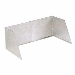 Autre pare flamme aluminium extensible hauteur 24 cm for Plaque anti eclaboussure cuisine murale