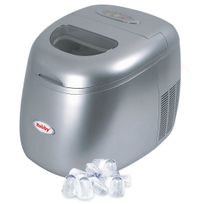ROBBY - mini ice maker - machine à glaçons 150 watts silver