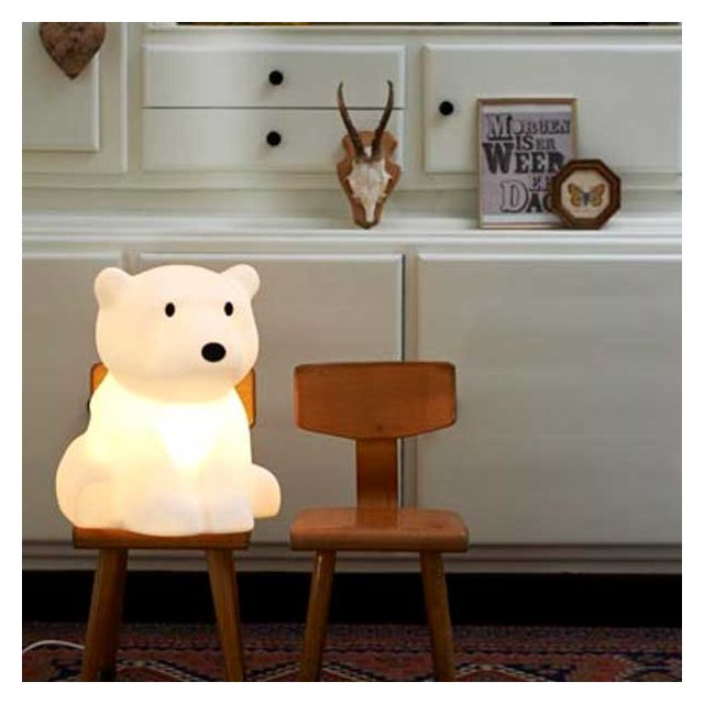 MR MARIA - Lampe Nanuk Ours Polaire