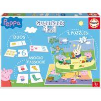 Educa - Superpack Peppa Pig : Duos, Puzzles, Association