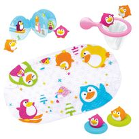Tigex - Lot jouets de bain pingouin