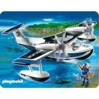 Playmobil - Police 4445 Policiers Et Hydravion