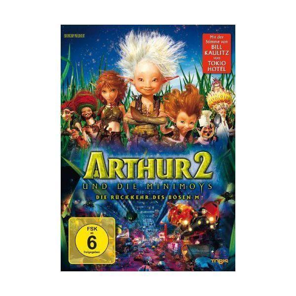 Universum Film Gmbh Dvd Dvd Arthur Und Die Minimoys 2 Ovp Import allemand