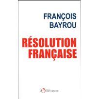 L'OBSERVATOIRE - Résolution française