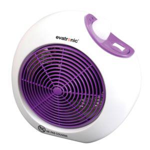 evatronic chauffage soufflant 2000w violet 000612 pas cher achat vente radiateur. Black Bedroom Furniture Sets. Home Design Ideas