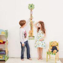 278a9a8c31d FANTASY FIELDS - Toise murale en bois pour chambre enfant bébé fille  échelle croissance TD-
