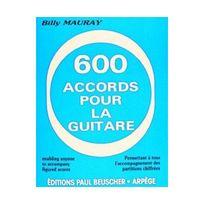 Paul Beuscher - 600 accords pour la guitare