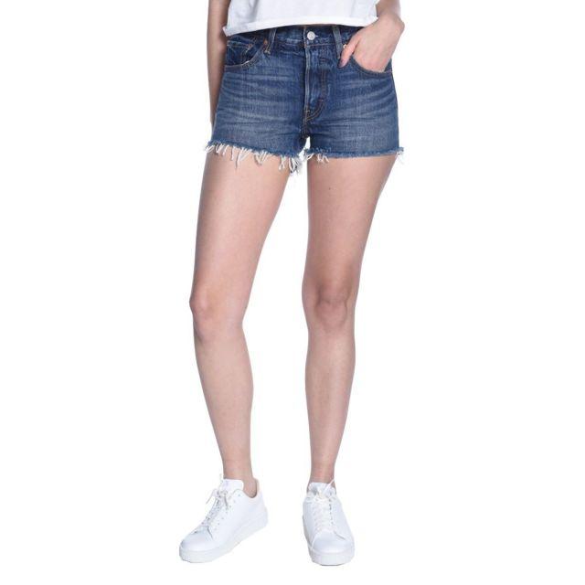 style top qualité parfaite dernières conceptions diversifiées Levi's - Short Jeans 501 Levis - pas cher Achat / Vente ...