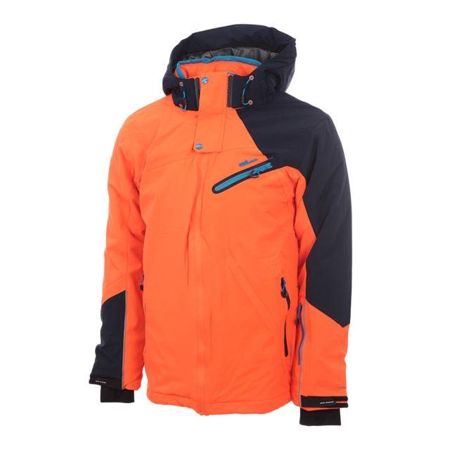 another chance pretty cool 2018 sneakers Blouson de ski homme Calis- orange