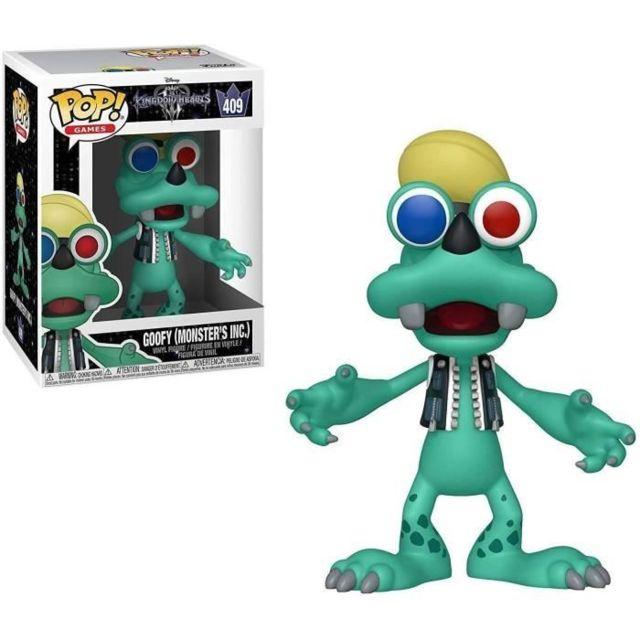 Icaverne FIGURINE MINIATURE - PERSONNAGE MINIATURE Figurine Pop! Kingdom Hearts 3: Goofy Monsters Inc