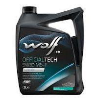 Wolf - Bidon 5 litres d'huile moteur 5W30 Ms-f 8308819