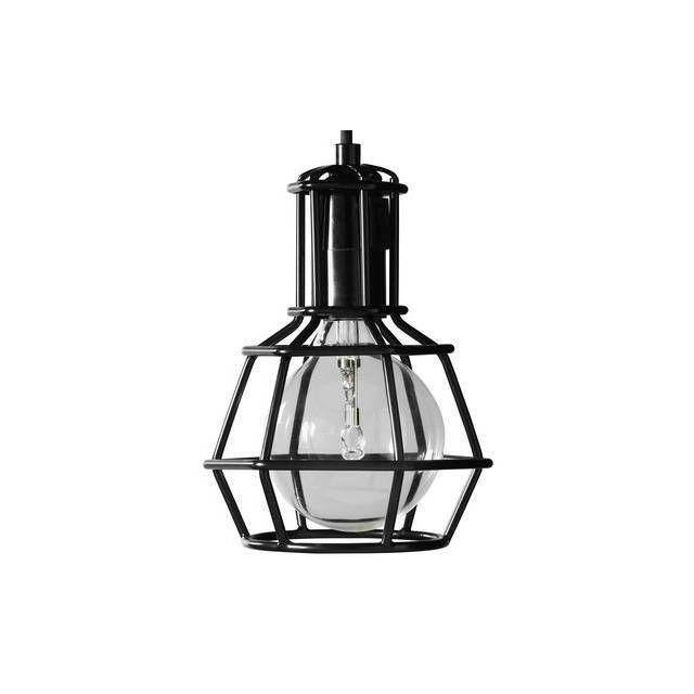 Design House Stockholm Work Lamp - Lampe Baladeuse Noir H21cm