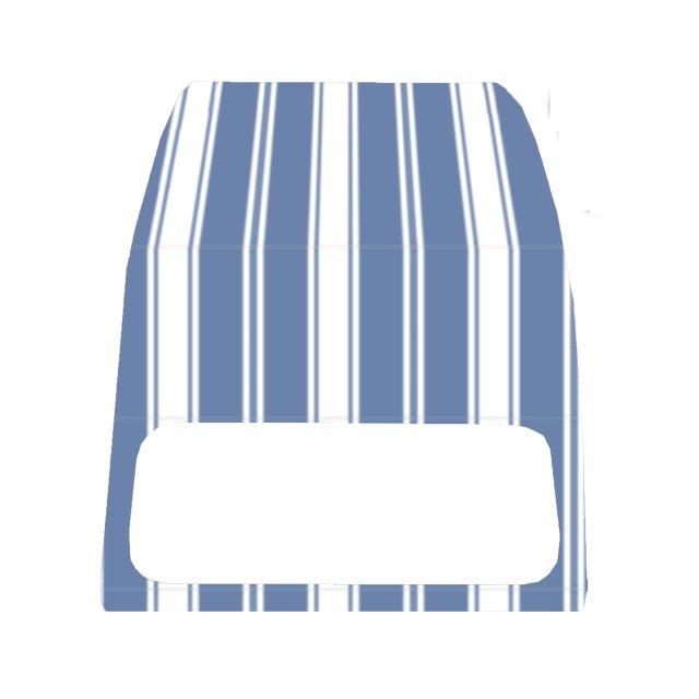 Accessoires auto TOPCAR Capote 2CV rouge Accessoires pour cabriolet neuve avec ouverture intérieure