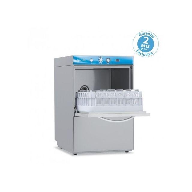 Materiel Chr Pro Lave verre avec adoucisseur - affichage digital - panier 400 x 400 mm - Elettrobar - 220V monophase