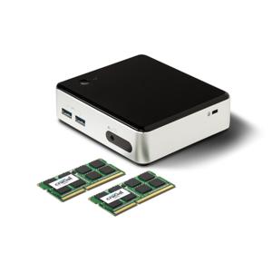 CRUCIAL - 32 Go Kit 16 Gox2, DDR4 2133 MHz PC4-17000, CL15 DR x8 Unbuffered DIMM 288pin