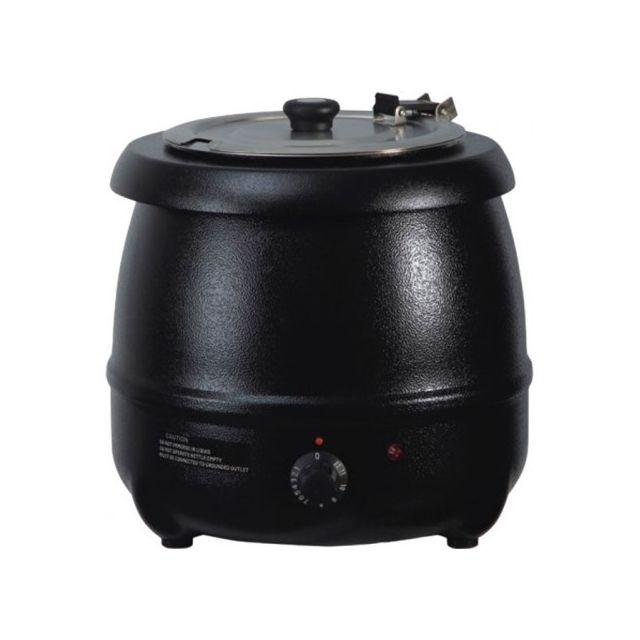 Atosa Marmite à Soupe noire - 10 Litres