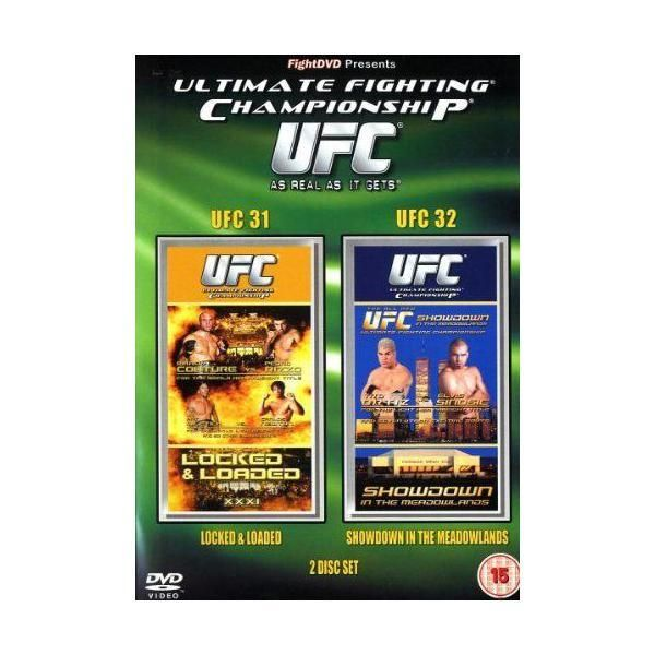 Fight Dvd - Ultimate Fighting Championship - 31 and 32 Import anglais