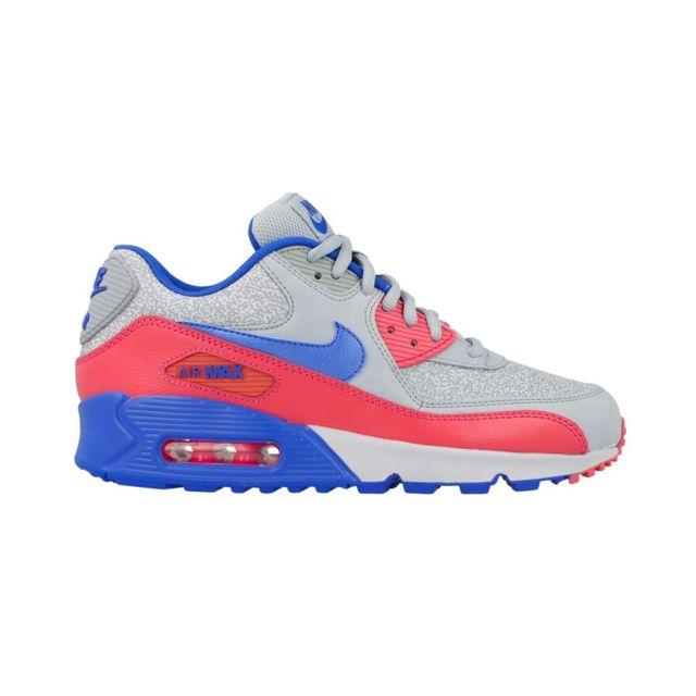 size 40 09241 f04d4 Nike - Basket Air Max 90 - 325213-505 Gris - 36 1 2 - pas cher Achat    Vente Baskets femme - RueDuCommerce