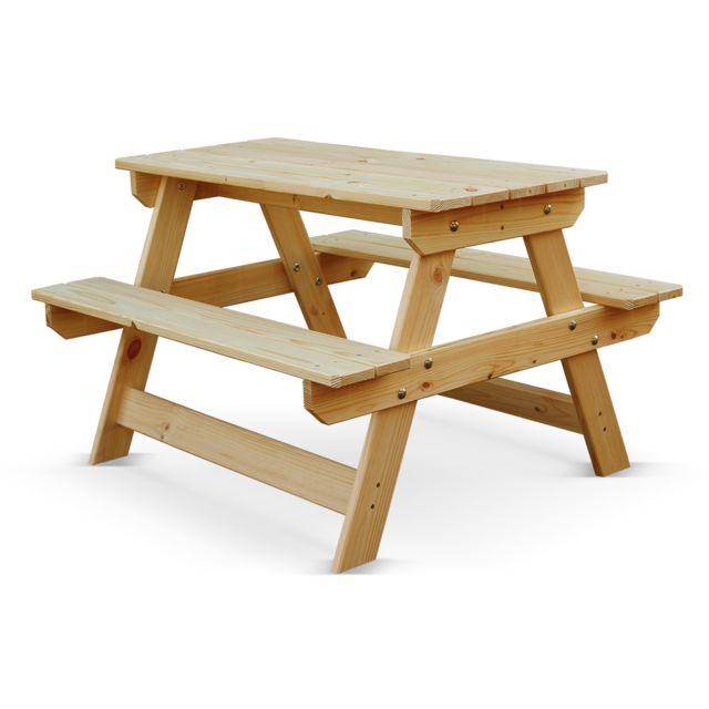 Alice\'s Garden - Table de pique nique enfants Padano Junior ...