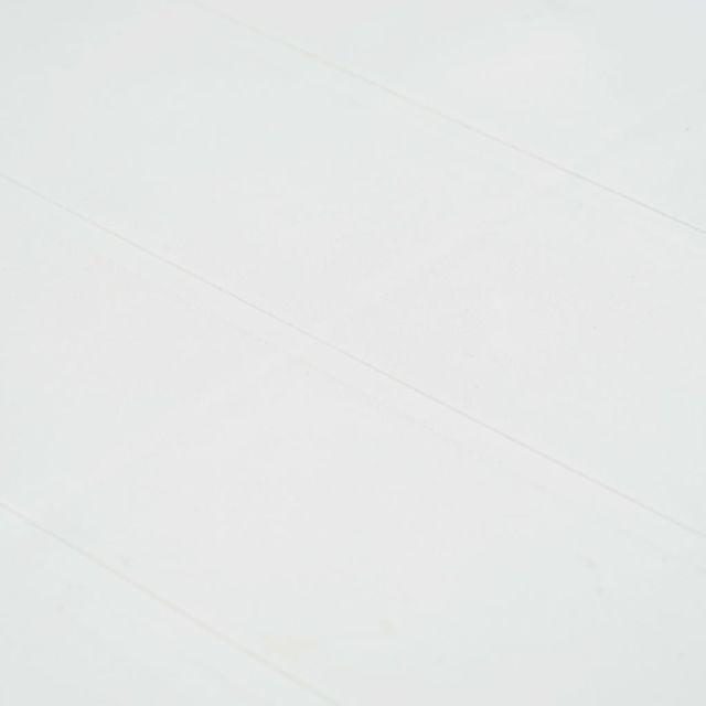 Icaverne - Salons de jardin edition Meuble à dîner d'extérieur 7pcs Plastique Blanc Aspect de rotin