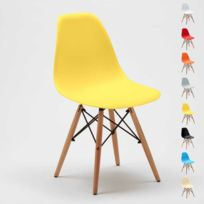 Ahd Amazing Home Design - Chaise Dsw Wooden Eames Design salle à m
