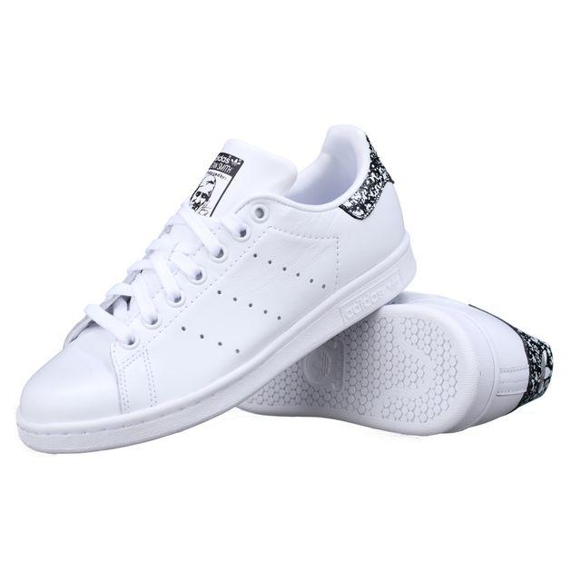 The Best & Latest Adidas Stan Smith W White & Black BZ0408