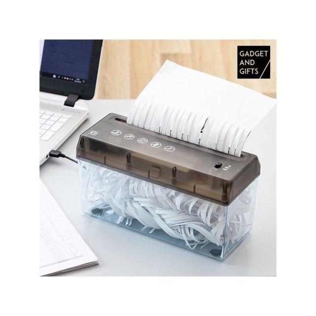 marque inconnue d chiqueteuse de papier portable gadget and gifts pas cher achat vente. Black Bedroom Furniture Sets. Home Design Ideas